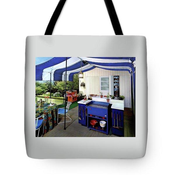 A Patio Tote Bag