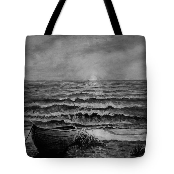 A Peaceful Evening  Tote Bag by C Steele
