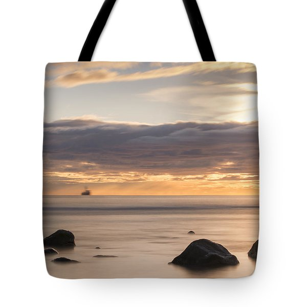 A Peaceful Sunrise Tote Bag