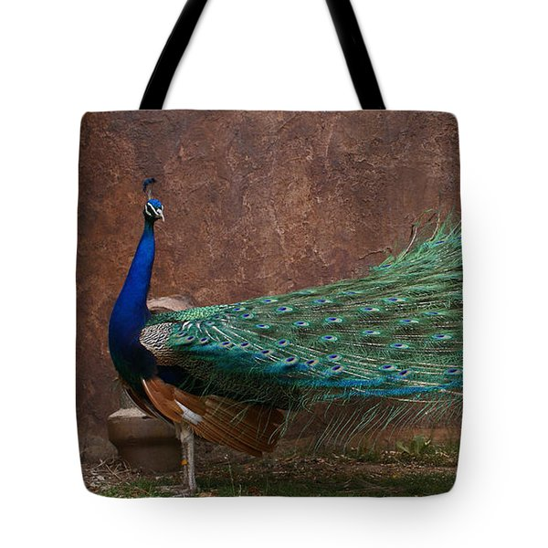 A Peacock Tote Bag