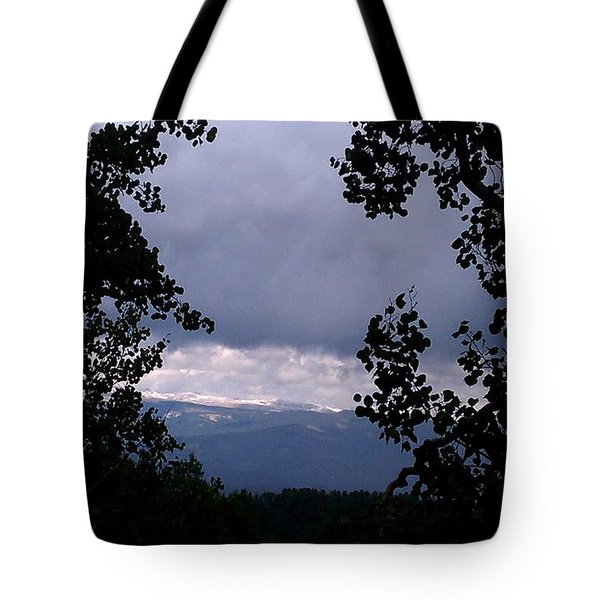 Tote Bag featuring the photograph A Peek At Heaven by Fortunate Findings Shirley Dickerson