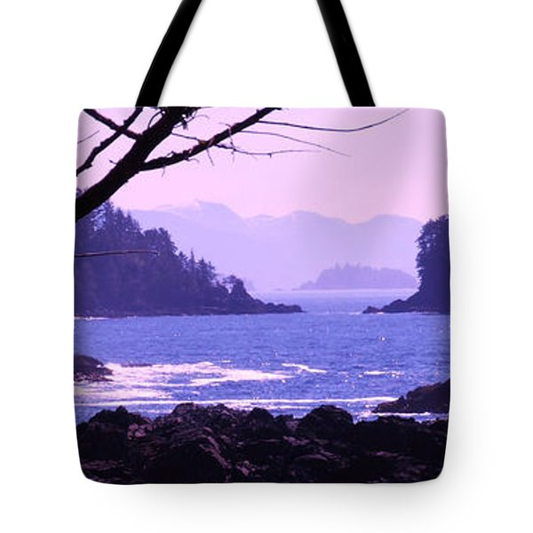 a Peek at the Bay Tote Bag