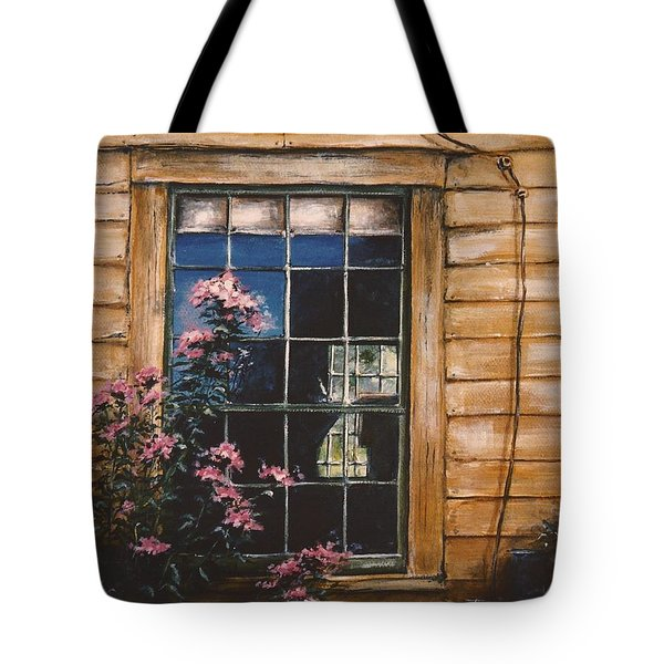 A Peek Through The Window Tote Bag