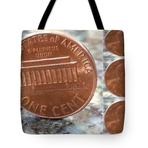 A Penny For Your Thoughts Tote Bag by Emmy Vickers