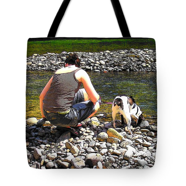 A Perfect Day Tote Bag by Micki Findlay