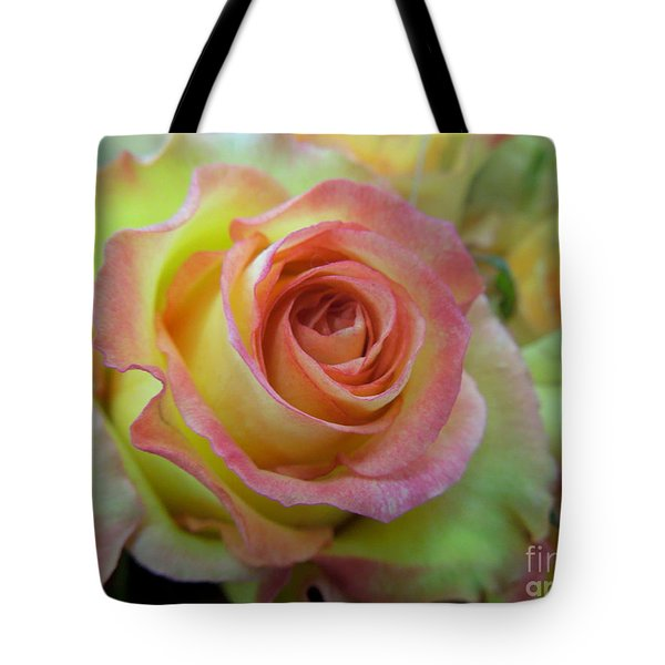 A Perfect Rose Tote Bag by Renee Trenholm