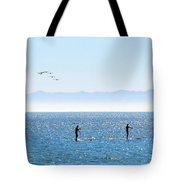 A Perfect Santa Barbara Day Tote Bag