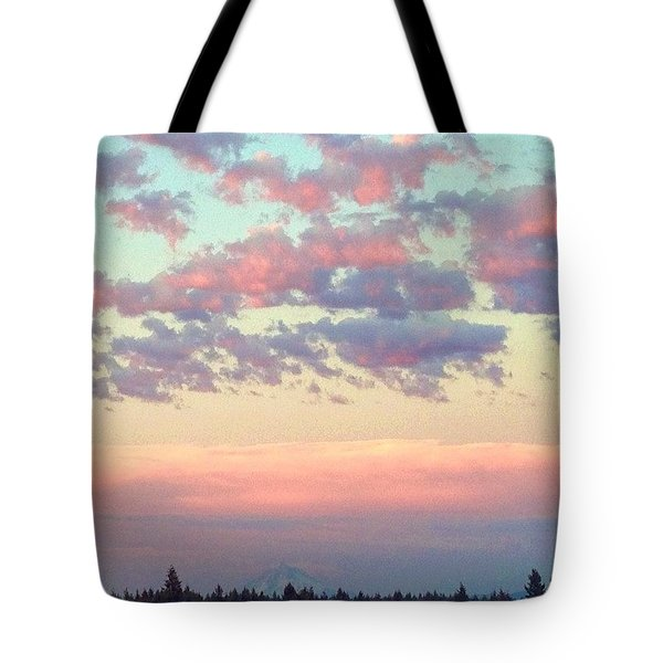 Summer Evening Under A Cotton Tote Bag