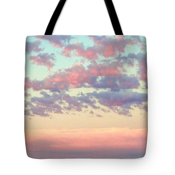 Summer Evening Under A Cotton Tote Bag by Blenda Studio