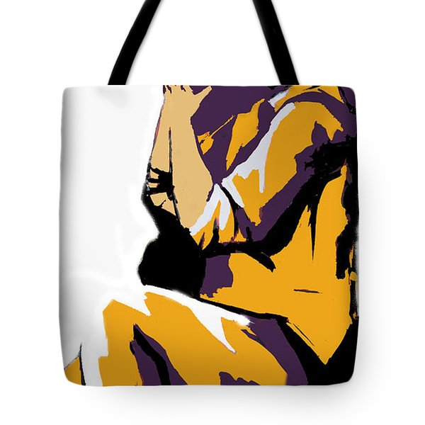 A Photographer In Action Tote Bag by Sotiris Filippou