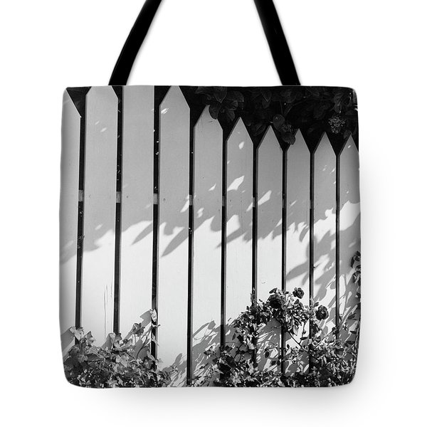 A Picket Fence Tote Bag