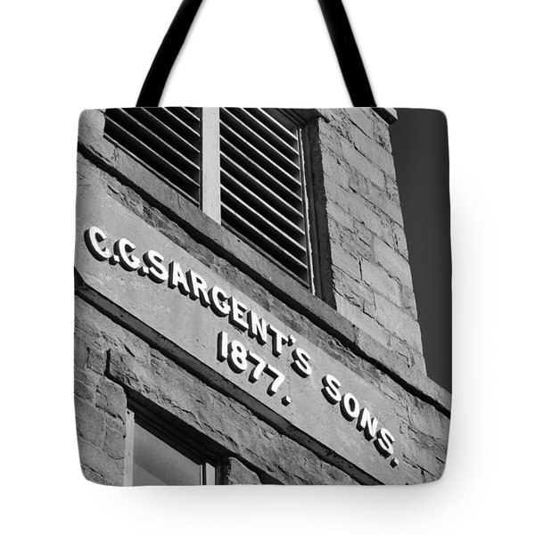 A Piece Of History Tote Bag