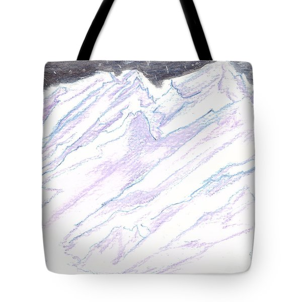 A Piece Of The Alaska Range2 Tote Bag by Heather  Hiland