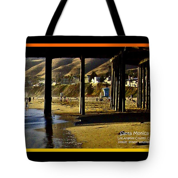 A Pier View Of Santa Monica Tote Bag