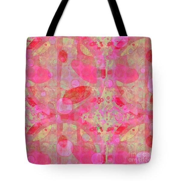 Tote Bag featuring the digital art A Pink Universe by Gabrielle Schertz