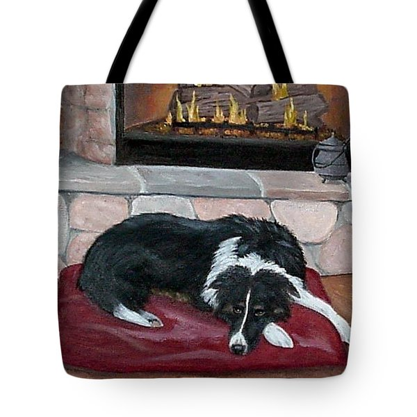 A Place By The Fire Tote Bag