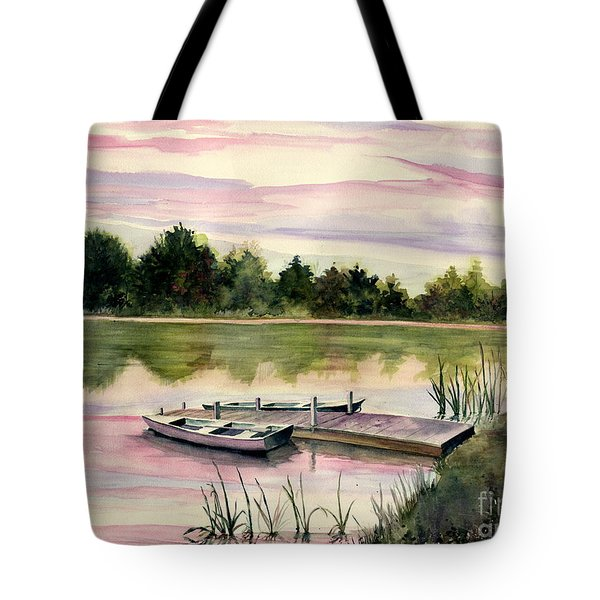 A Place In My Heart Tote Bag by Melly Terpening