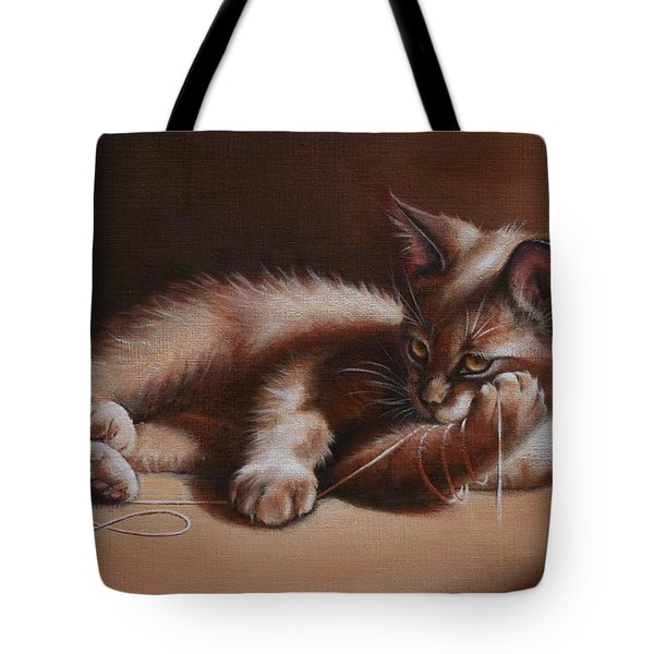 Tote Bag featuring the painting A Place In The Sun by Cynthia House