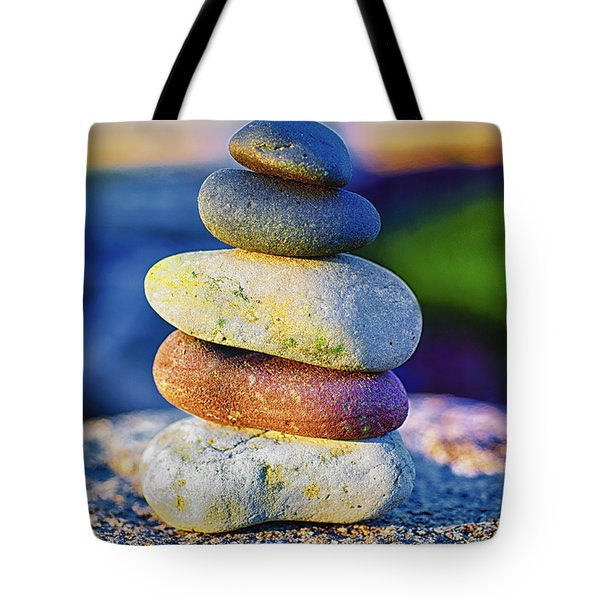 A Place Of Peace Tote Bag by Christi Kraft