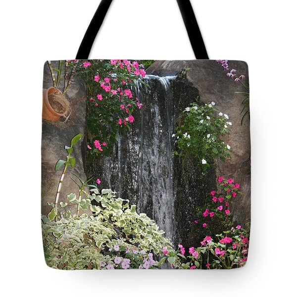 A Place Of Serenity Tote Bag by Bruce Bley