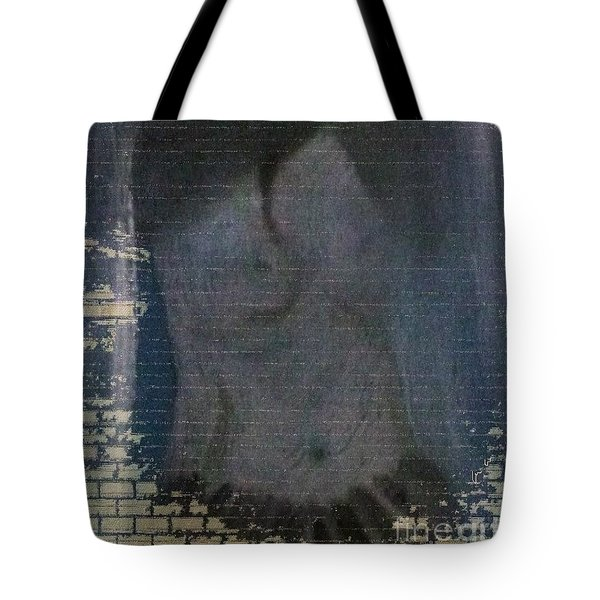 Tote Bag featuring the painting A Place  by Ann Calvo