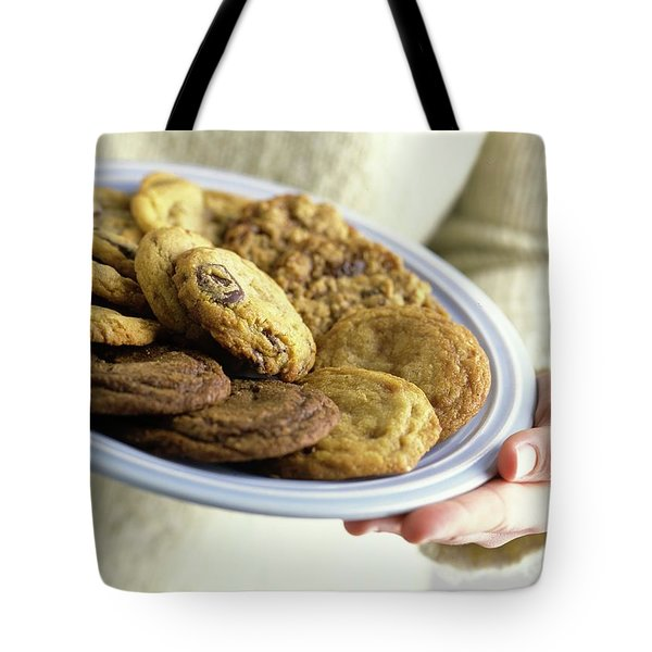 A Plate Of Cookies Tote Bag