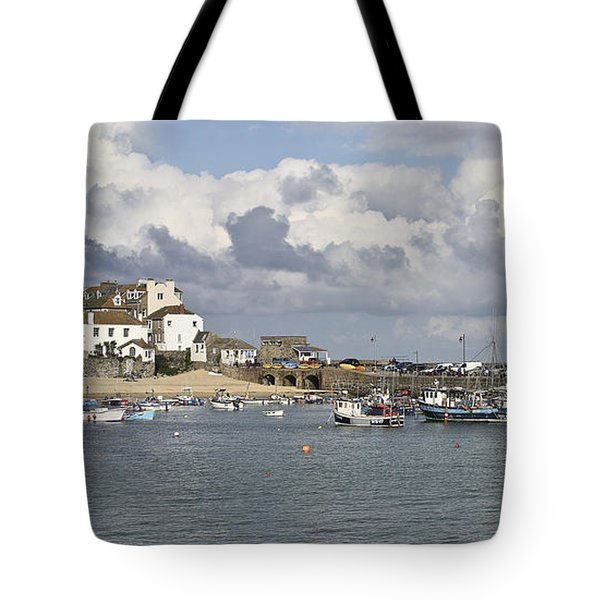 A Postcard From St Ives Tote Bag by Terri Waters