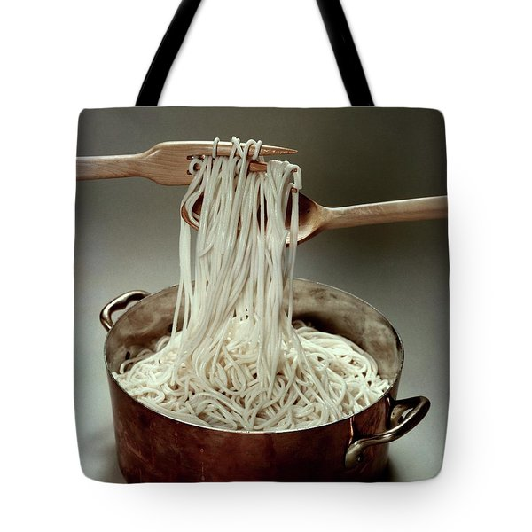 A Pot Of Spaghetti Tote Bag