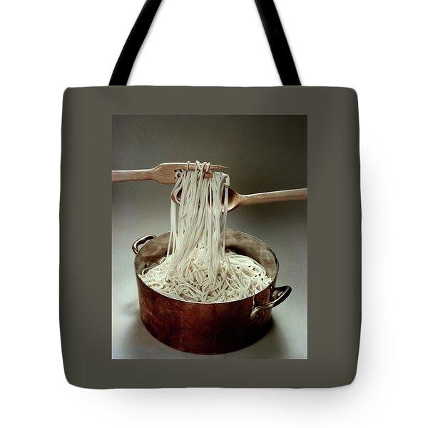 A Pot Of Spaghetti Tote Bag