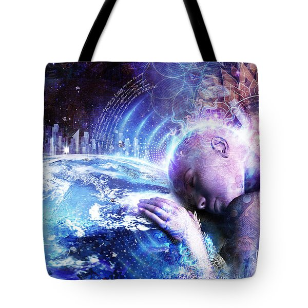A Prayer For The Earth Tote Bag