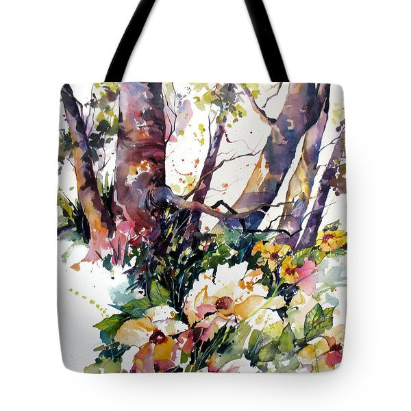A Quiet Place Tote Bag by Rae Andrews