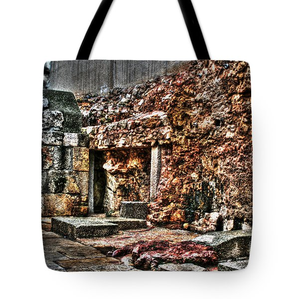 Tote Bag featuring the photograph A Quiet Place To Pray by Doc Braham