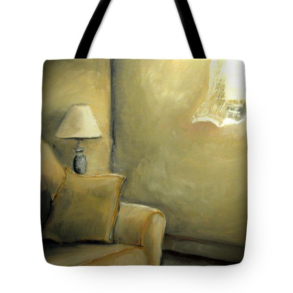A Quiet Room Tote Bag