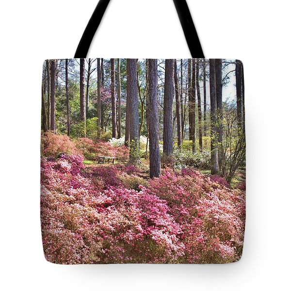 A Quiet Spot In The Woods Tote Bag by Gordon Elwell