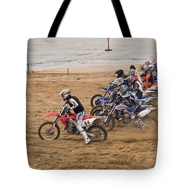 A Racing Start Tote Bag