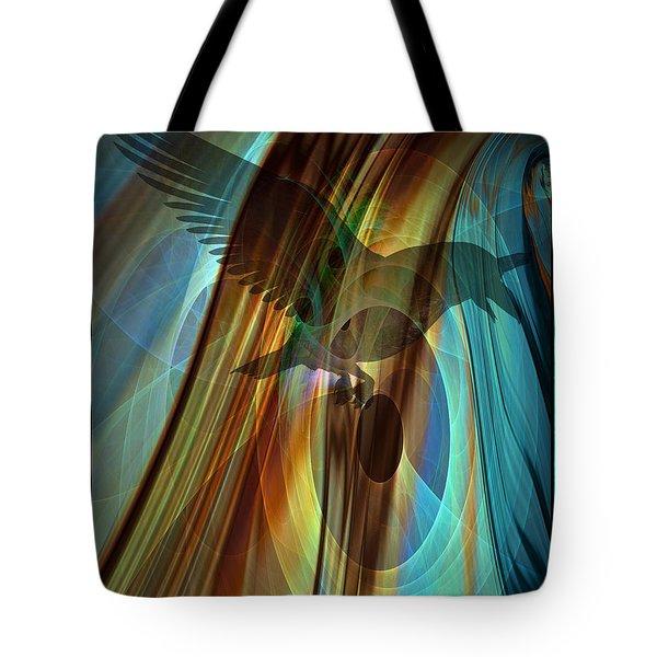 A Raven's Eye Tote Bag
