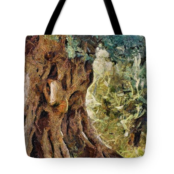A Really Old Olive Tree Tote Bag