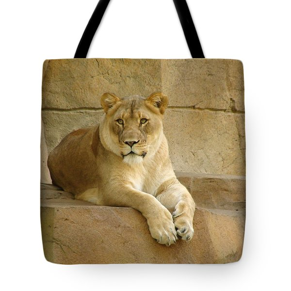 A Regal Presence Tote Bag