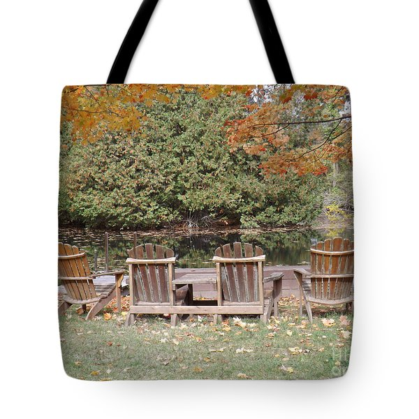Relax For A Moment  Tote Bag