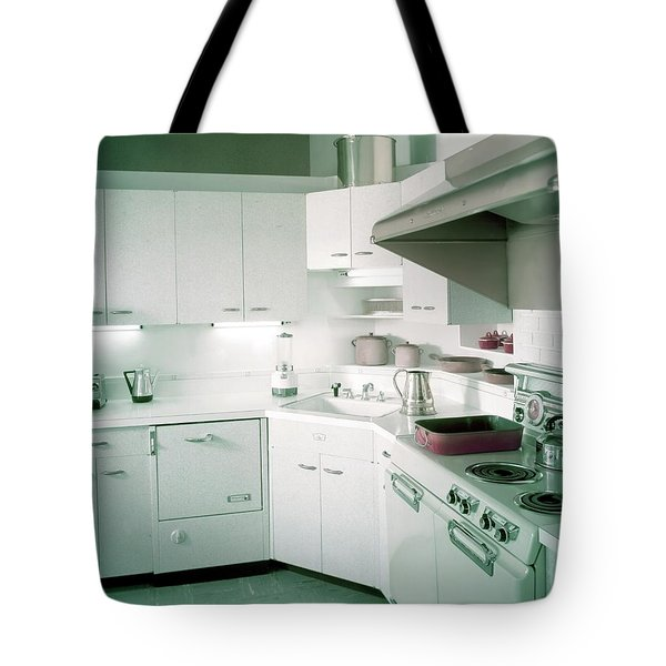 A Retro Kitchen Tote Bag