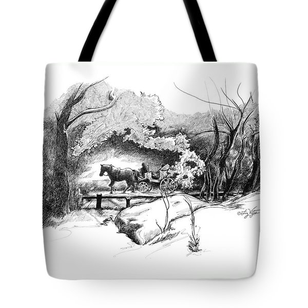 A Ride Through Central Park Tote Bag