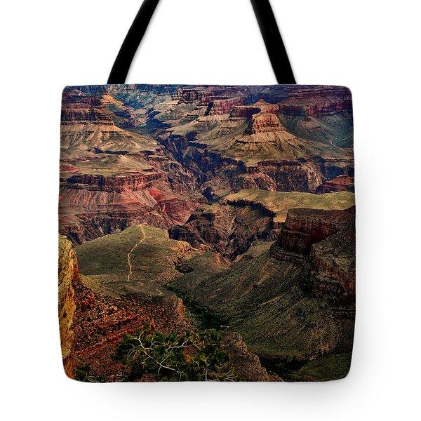A River Runs Through It-the Grand Canyon Tote Bag