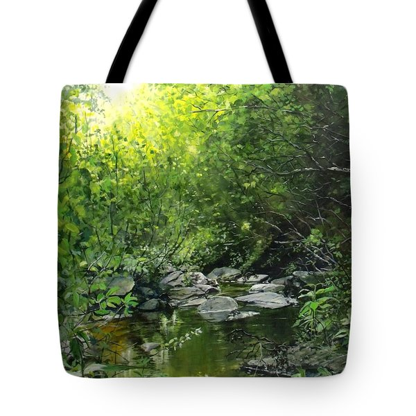 A Road Less Traveled Tote Bag