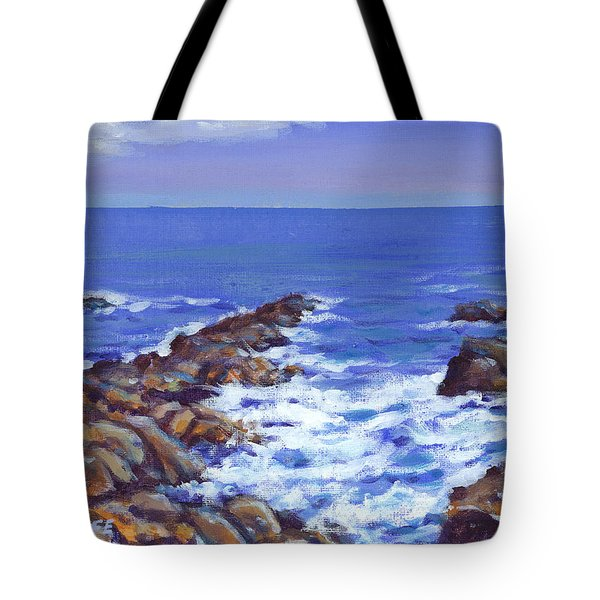 A Rocky Coast Tote Bag