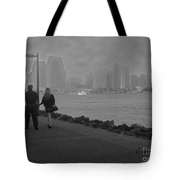 A Romantic Walk 2 Tote Bag