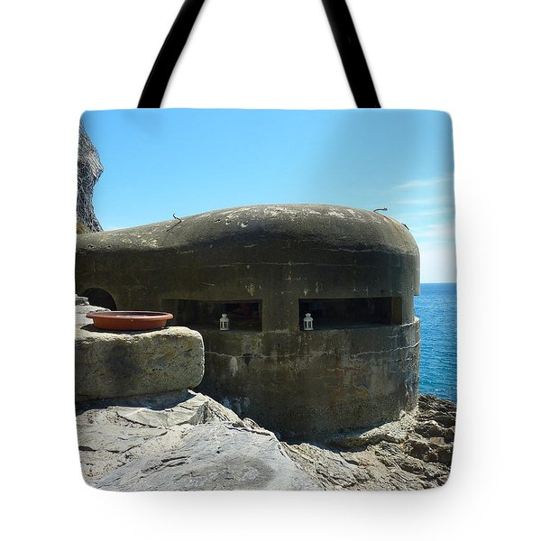 A Room With A View Tote Bag by Adrienne Franklin