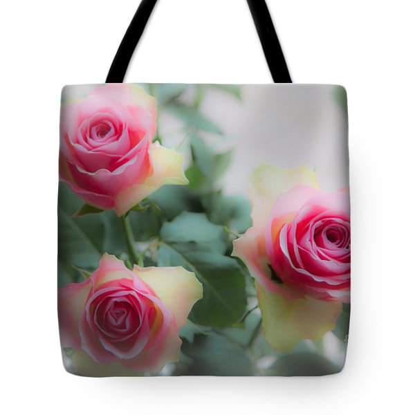 A Rose And A Rose And A Rose Tote Bag