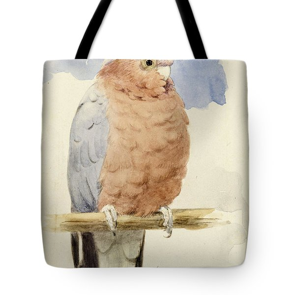 A Rose Breasted Cockatoo Tote Bag
