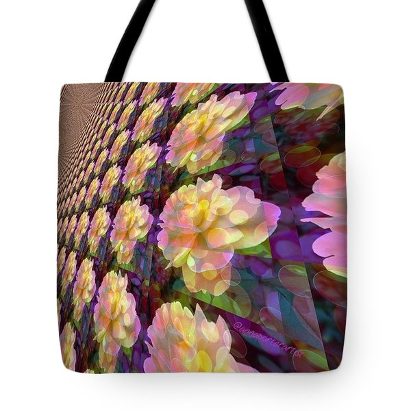 A Rose Is A Rose Is A Rose Is A Rose Tote Bag