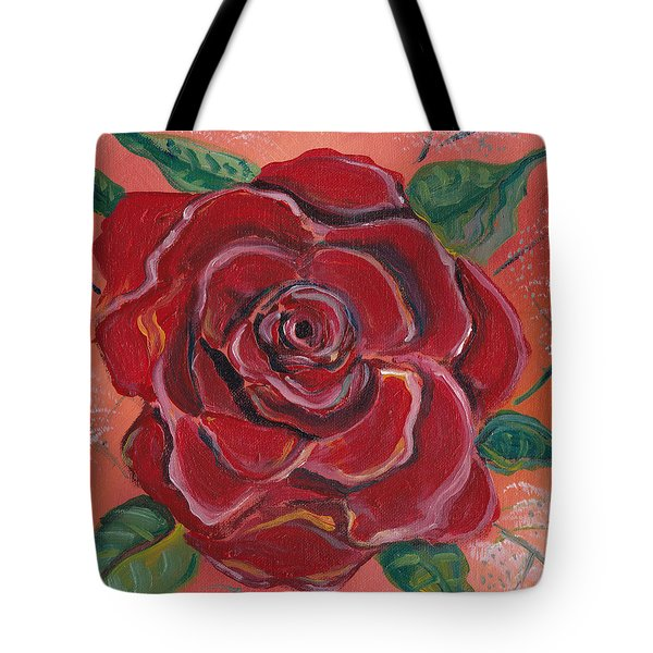 A Rose Is A Rose Tote Bag by John Keaton